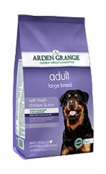 Сухой корм для собак крупных пород Arden Grange Adult Dog Large Breed курица, рис