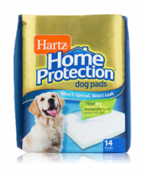 Впитывающие пеленки для собак Hartz Training Pads Maximum Protection for dogs & puppies, 56*56 см