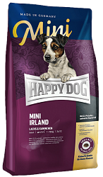 Сухой корм для собак при проблемах с кожей и аллергией Happy Dog Supreme mini Irland